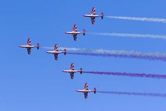 Polish Aerobatic Team demonstration Stock Image