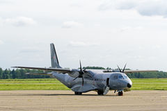 Polish Air Force CASA C-295M transport plane. Stock Photos