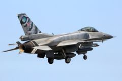 Polish Air Force F-16 fighter jet Stock Photos