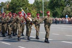 Polish Airborne Brigade Stock Image
