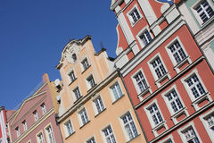 Polish architecture Stock Images
