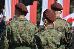 Polish Army Day Stock Image