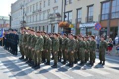 Polish Army Day Stock Photo