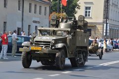 Polish Army Day Royalty Free Stock Image