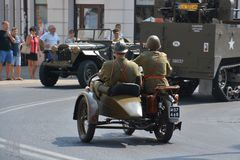 Polish Army Day Royalty Free Stock Images