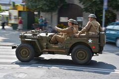 Polish Army Day Royalty Free Stock Photos