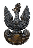 Polish Army insignia eagle Royalty Free Stock Photo