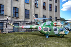 Weapons and equipment - Mi-2 Stock Images