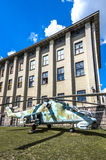 Weapons and equipment - Mi-24 stock photography