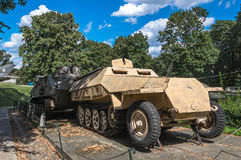 Polish Army Museum - Sd.Kfz.251 Royalty Free Stock Photos