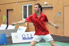Polish badminton player Michal Rogalski Royalty Free Stock Photo