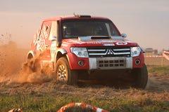 Polish Baja cross-country race stock photo