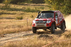 Polish Baja cross-country race Royalty Free Stock Photography