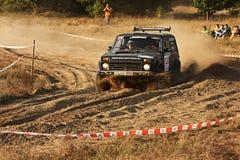 Polish Baja cross-country race royalty free stock photo