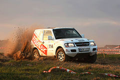 Polish Baja cross-country race Royalty Free Stock Photo