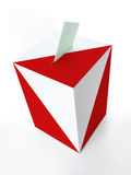 Polish ballot box Stock Photography