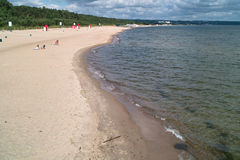 Polish Baltic coast. Royalty Free Stock Image