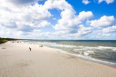 Polish Baltic sea - coast Stock Photo