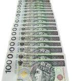 Polish bank notes Stock Photography