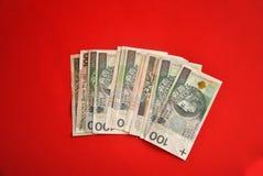 Polish bank notes Stock Photos