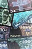 Polish banknotes Stock Photography