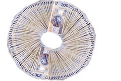 Polish banknotes Stock Photos