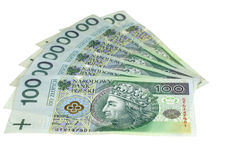 Polish banknotes Stock Image