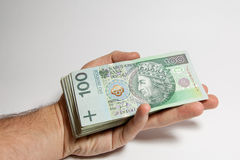 Polish banknotes Royalty Free Stock Photography