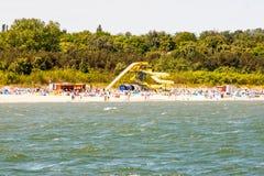 Polish beach Royalty Free Stock Image