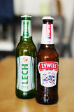 Polish beer Stock Photo