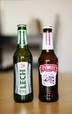 Polish beer Stock Photography