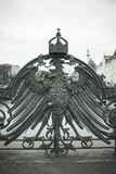 Polish bird symbol Bridge detail.. stock image