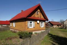 Polish cabin Stock Photos