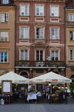 Polish capital Warsaw Royalty Free Stock Photos