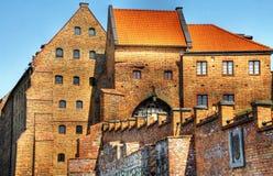 Polish castle in Grudziadz. With water gate - HDR Stock Photos