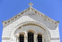 Polish Catholic Chapel, Jerusalem. Royalty Free Stock Images