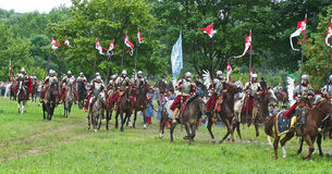 Polish cavalry Royalty Free Stock Image