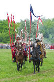 Polish cavalry Royalty Free Stock Images