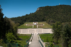 Polish Cementry - Montecassino Royalty Free Stock Photo