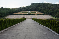 Polish Cemetery at Montecassino Stock Photos