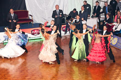 Polish championship in the ballroom dance Stock Image