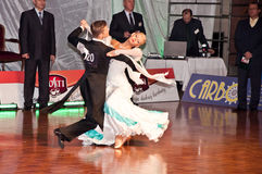 Polish championship in the ballroom dance Royalty Free Stock Images