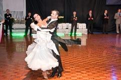 Polish championship in the ballroom dance Royalty Free Stock Photos