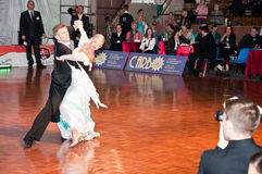 Polish championship in the ballroom dance Stock Image