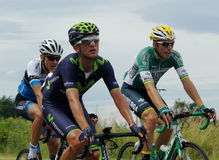 Polish Championships in road cycling. In June 2014 in Sobotka, Poland Stock Photography