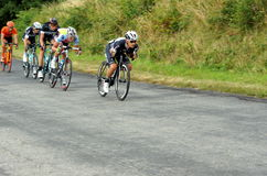 Polish Championships in road cycling. In June 2014 in Sobotka, Poland Royalty Free Stock Images