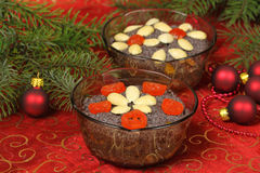 Polish Christmas dessert  Stock Photos