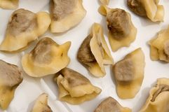 Polish Christmas dumplings (uszka) Stock Images