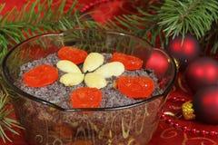 Polish Christmas food stock image