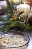 Polish Christmas table Royalty Free Stock Image